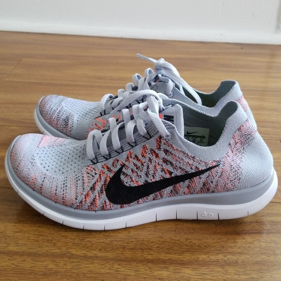 newest cd295 812df Nike Free 4.0 Flyknit Women's Running Size 8